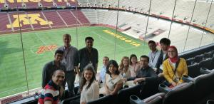 Photo of Purdue IPPH Students attending the 2018 Pharmaceutics Graduate Student Meeting