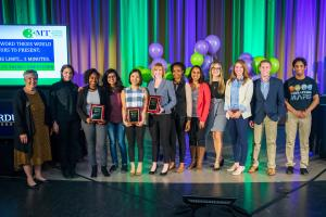 photo: Purdue 3 minute thesis competition finalists
