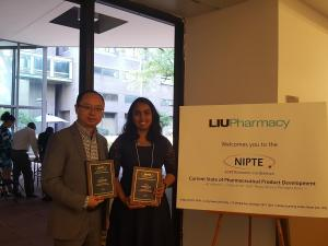 Dr. Tony Zhou and Nivedita Shetty