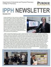 cover of December 2019 newsletter