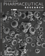 Pharmaceutical Research cover