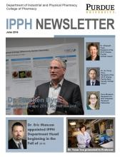 photo of the cover of the IPPH newsletter for June 2018