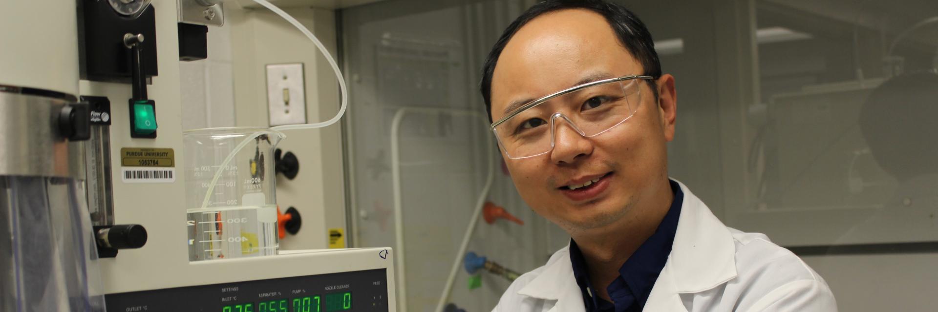 """Dr. Qi """"Tony"""" Zhou"""